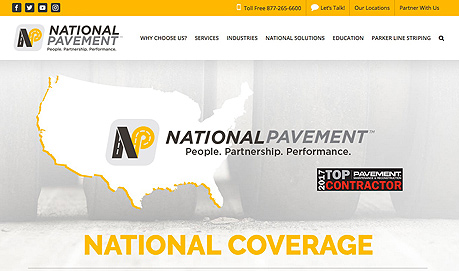 National Pavement Marketing and Branding Content